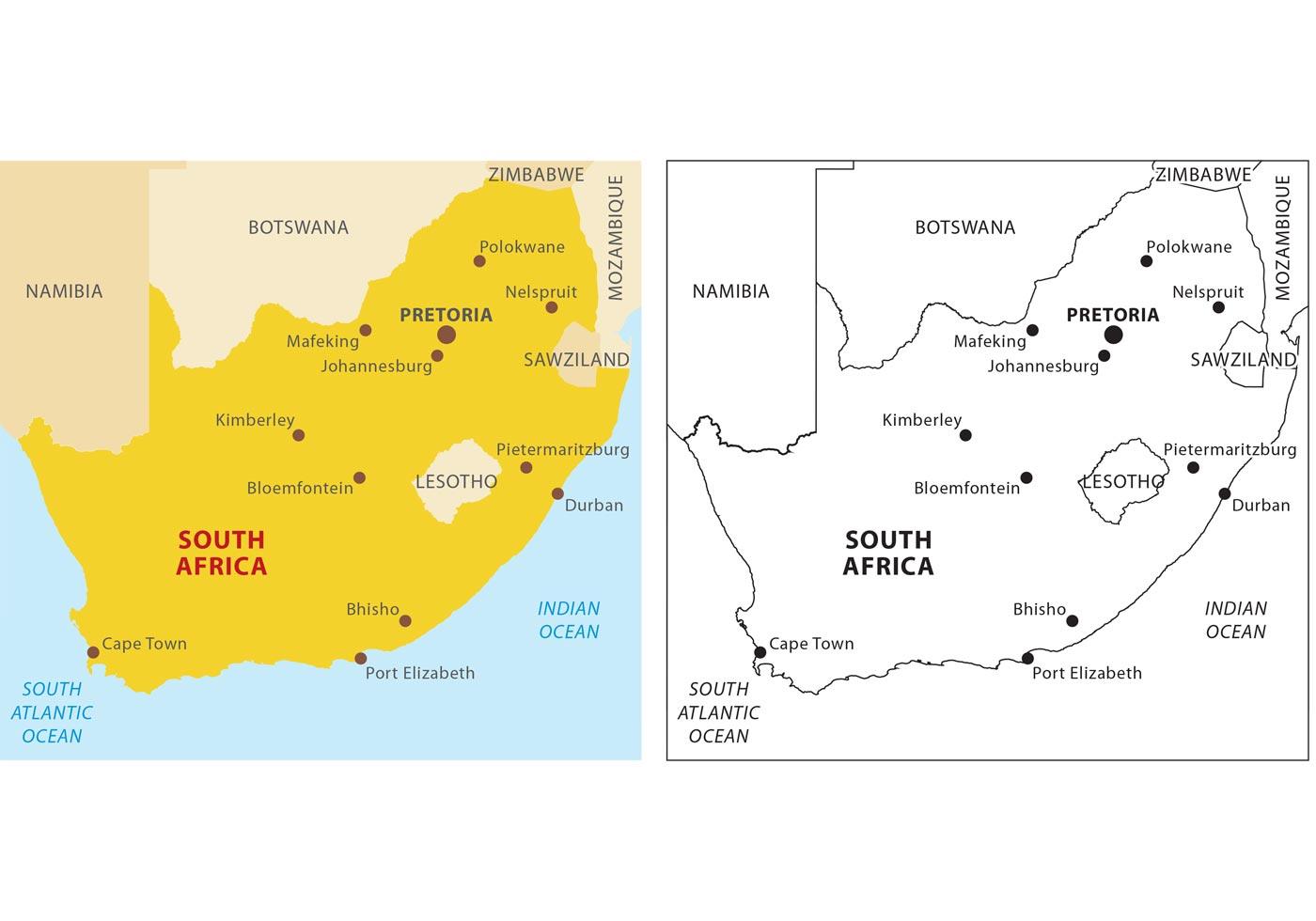 Cartina Muta Del Sudafrica.Mappa Vettoriale Del Sud Africa 91306 Scarica Immagini Vettoriali Gratis Grafica Vettoriale E Disegno Modelli