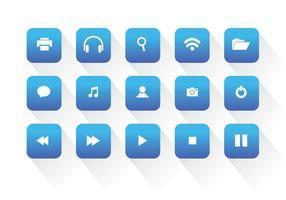 Icone universali di vettore di Web
