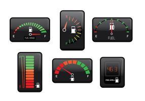Vettore del calibro del carburante