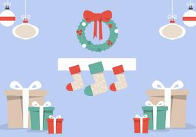 Natale gratis Camino vettoriale