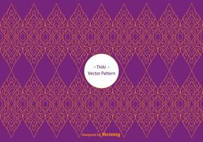 Thai Pattern Vector gratuito
