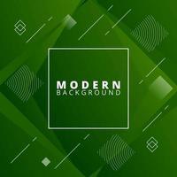 design di forma geometrica verde quadrato