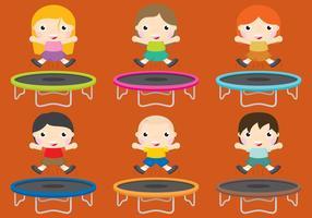 trampolini vettore