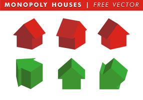 Vettore gratuito delle case di monopolio