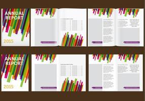 Relazione annuale colorata