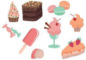Vettori gratuiti di pasticceria e dessert