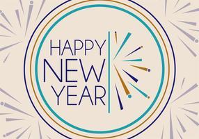 Vettore di nuovi anni gratis