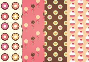 modelli vettoriali di dolci