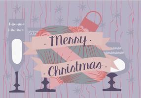 Illustrazione di sfondo di Natale vettore