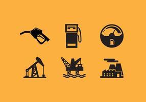 Calibro di carburante vettoriale