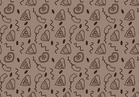 Crepes Pattern # 3 gratuito vettore