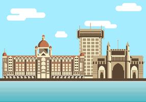 Vettore di Mumbai gratis