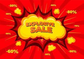 Sfondo vettoriale gratuito di vendita