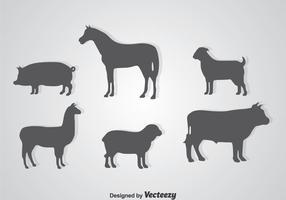 Animali silhouette