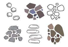 Stone Path Vector Illustration # 2 libero