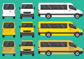 Mini bus vettore