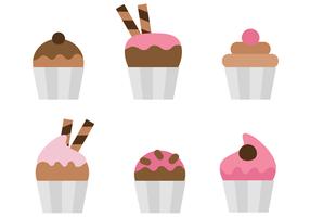 Cupcakes vettoriali gratis