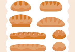 Vettore gratuito di pane