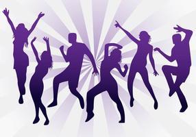vettori di danza zumba