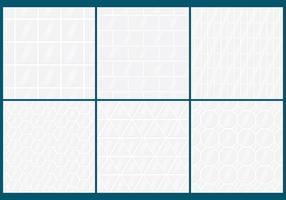 modelli di vettore delle mattonelle azulejo