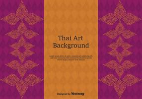 Arte vettoriale gratuita Thai Pattern