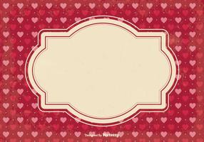 Scrap Background di San Valentino vettore