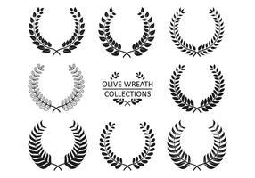 Collezioni di Olive Wreath Vector