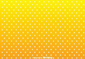 Punto bianco su sfondo giallo