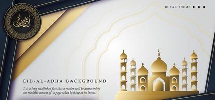 di lusso reale diwali banner sfondo
