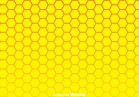 Sfondo giallo a nido d'ape