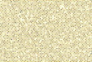 fondo dorato astratto del modello punteggiato vettore