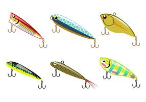 Vettore di richiamo di pesca gratis