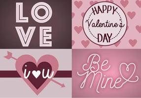 San Valentino vettoriali gratis