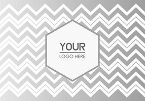 Sfondo geometrico gratuito di logo