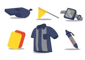 Set vettoriale di calcio kit