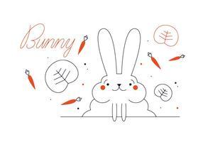Bunny Vector gratuito