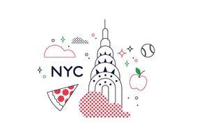 Vettore di New York gratis