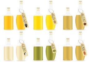 Vettori di olio biologico