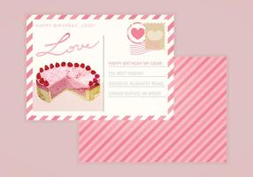 Cartolina di San Valentino vettoriale