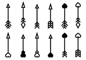 Vettore di frecce gratis