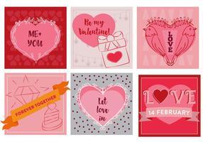 Icone vettoriali gratis amore