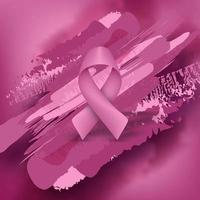 sfondo viola nastro cancro al seno