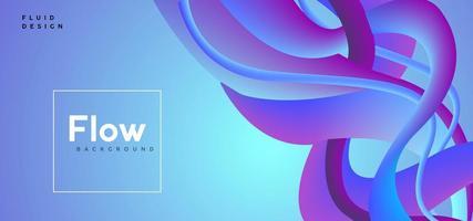 flusso astratto sfondo blu