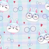 acquerello modello coniglio