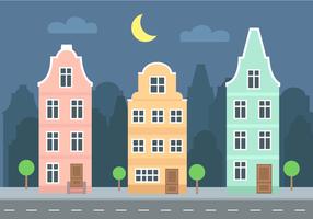 Vettore di edifici gratis