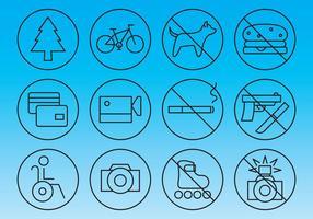 Vettori di segno di informazioni e proibizione