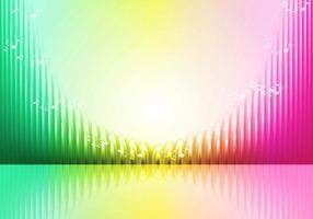 Illustrazione vettoriale di barre audio