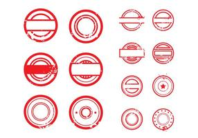 Stempel Vector Illustration # 1 libero