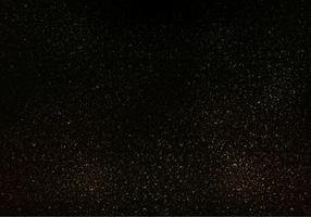 Vettore di strass, struttura di scintillio dell'oro su fondo nero