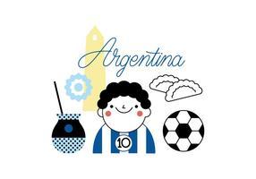 Vettore libero dell'Argentina